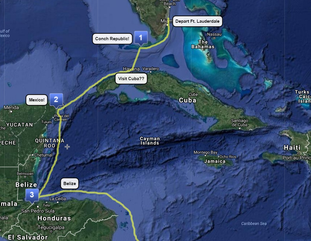 (1) Lauderdale to Key West – COMPLETE