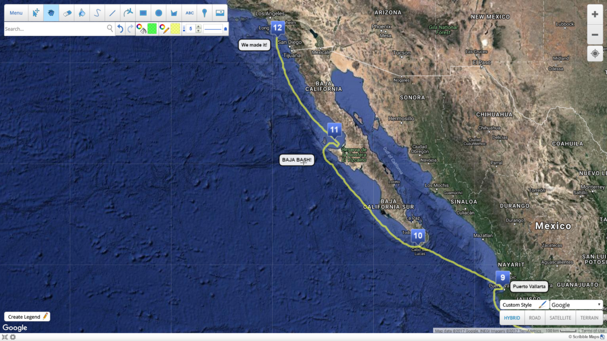 (7) Acapulco to Cabo – COMPLETE